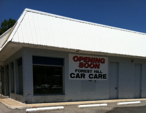 Forest Hill Car Care Opening
